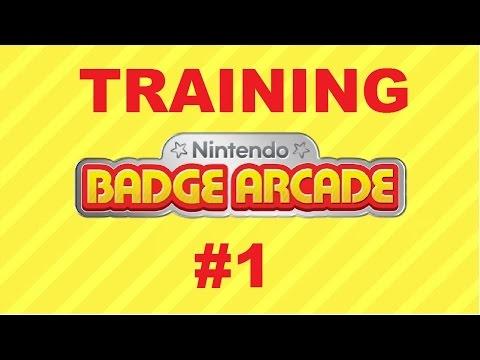 Let's Training: Nintendo Badge Arcade [#1][German] Seid ihr griffbereit?