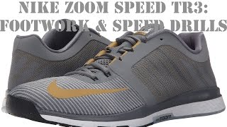shoe review on Nike zoom speed TR