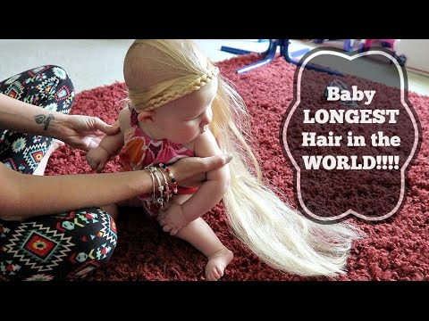 Baby LONGEST Hair In The WORLD