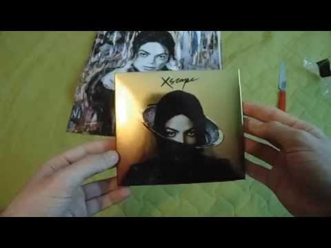 Unboxing Michael Jackson Xscape (DELUXE EDITION) By Lele Jackson