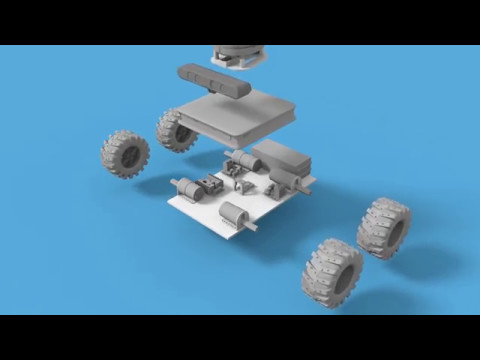 Robotics Weekends #2 - CbBot. Experimental ROS robot platform with SLAM and Gmapping