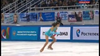 Evgenia MEDVEDEVA 2014 FS Russian Nationals