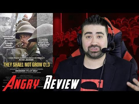 They Shall Not Grow Old Angry Movie Review