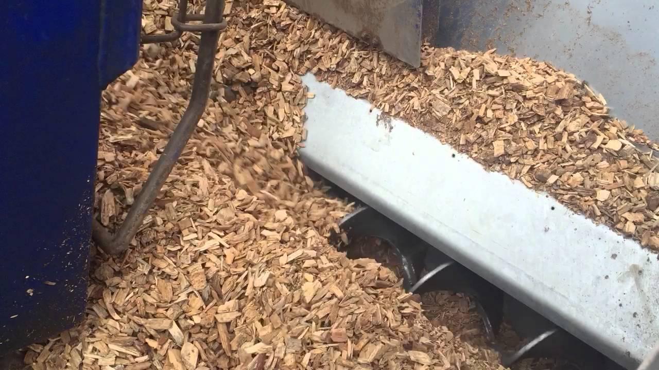 Biomass wood chip fuel transfer system abel energy ltd