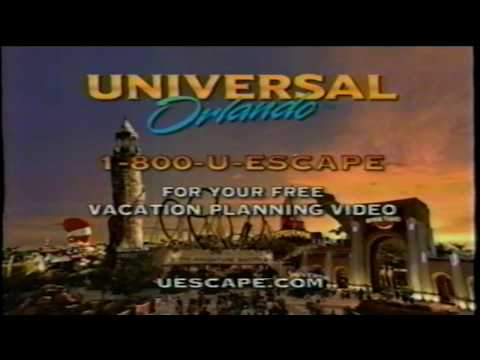Universal Orlando Islands of Adventure Theme Park TV Commercial