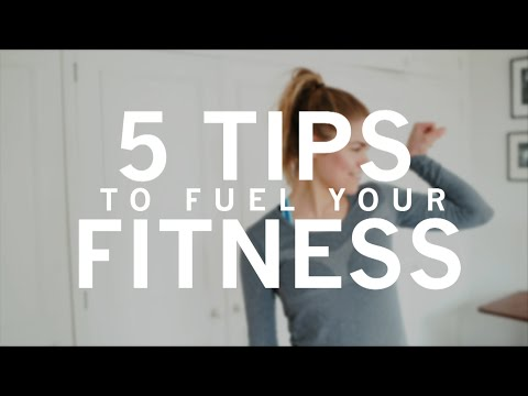 5 Tips to Fuel Your Fitness | Madeleine Shaw