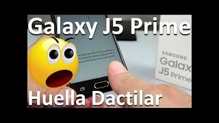 samsung galaxy j5 prime review huella dactilar