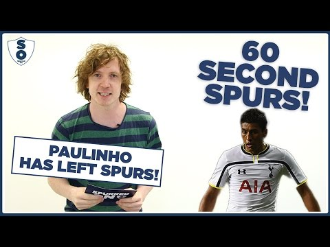 Paulinho Sold And Other Transfer Rumours | 60 Second Spurs | Spurred On
