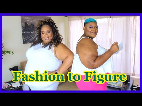 Fashion to Figure Plus Size Clothing Haul // Feat. SXYDYAMOND. http://bit.ly/2Xc4EMY