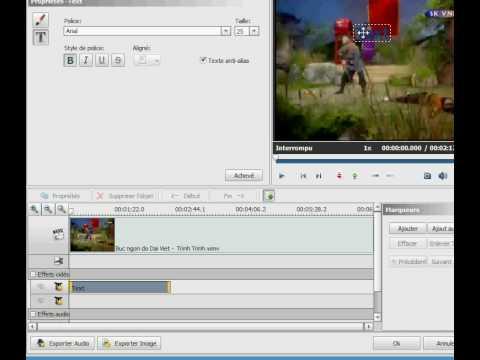 Chèn chữ vào video bằng AVS Video Converter
