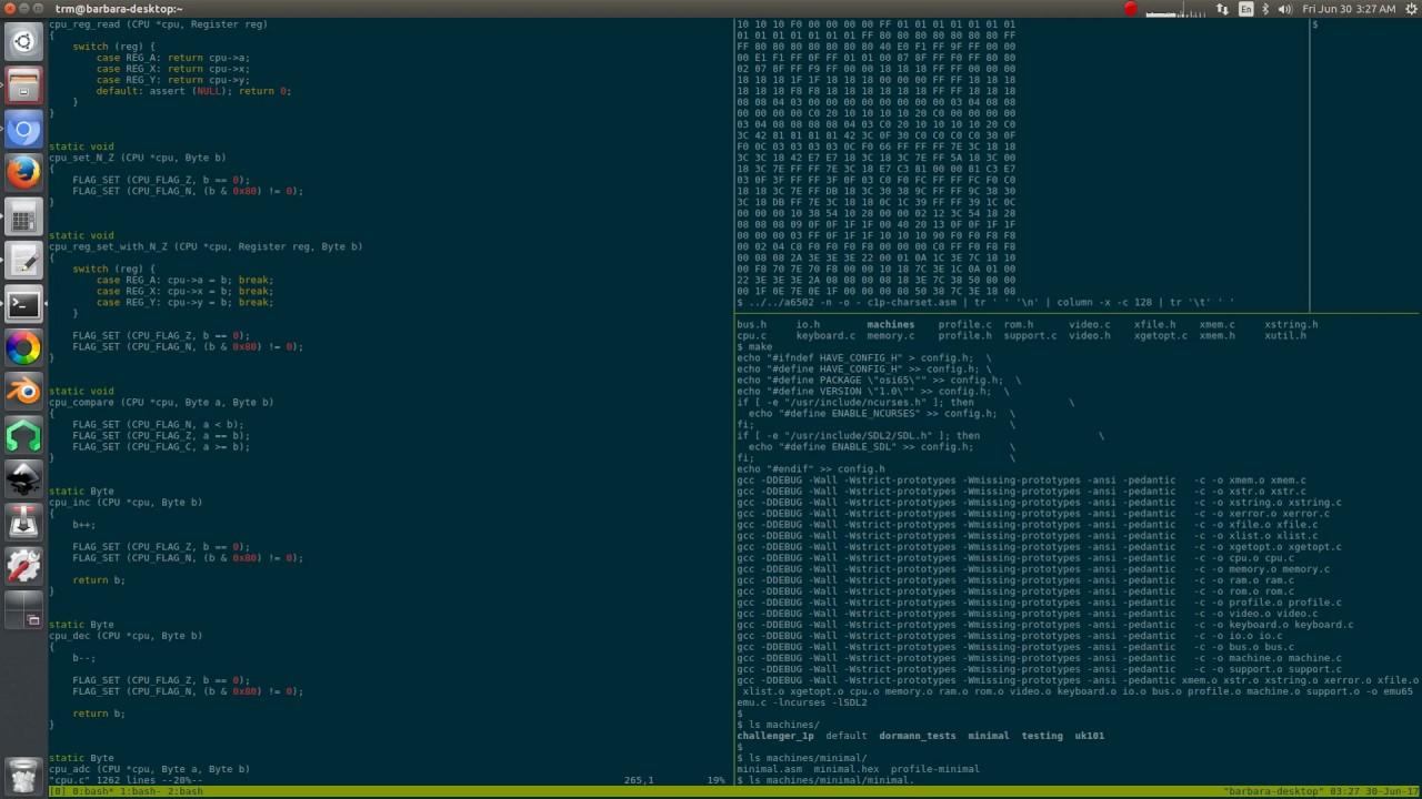 4 - 6502 emulator, checking for memory leaks with valgrind