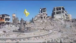The city of Raqqa today | October 20th 2017 | Syria