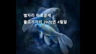 별자리 타로운세:  물고기자리 2020년 4월