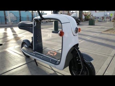 lit motors kubo cargo scooter ces 2014 youtube. Black Bedroom Furniture Sets. Home Design Ideas