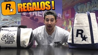 VOY A LA OFICINA DE ROCKSTAR Y ME HACEN MUCHOS REGALOS !! OMG - ElChurches Video