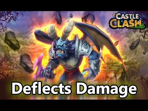 Castle Clash: Here Be Demon Boss [Deflects Damage]