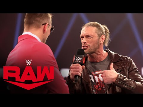 Edge provides an update on his WrestleMania decision: Raw, Feb. 8, 2021