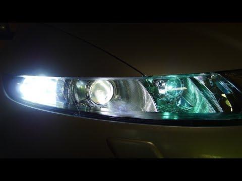 Honda Civic биксеноновые и светодиодные линзы в фары и ДХО. Тюнинг и ремонт фар