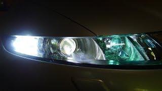 Honda Civic біксенонові і світлодіодні лінзи в фари і ДХО. Тюнінг і ремонт фар