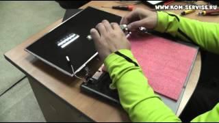 Разборка и замена матрицы ноутбука HP 530(, 2013-07-20T16:50:04.000Z)