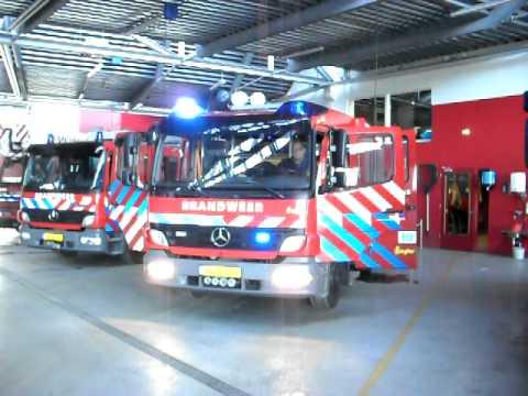 Garage Den Helder : 640 brandweer den helder zwaailichten youtube