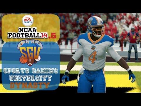 NCAA Football 14.5: Sports Gaming University Gamers – EP5 (Week 5 vs #17 Maryland)