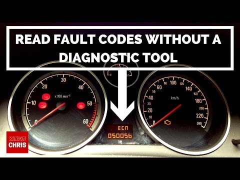 How to Read Fault Codes WITHOUT a Diagnostic Tool - Astra, Zafira, Corsa, Vectra etc. (Pedal Test)