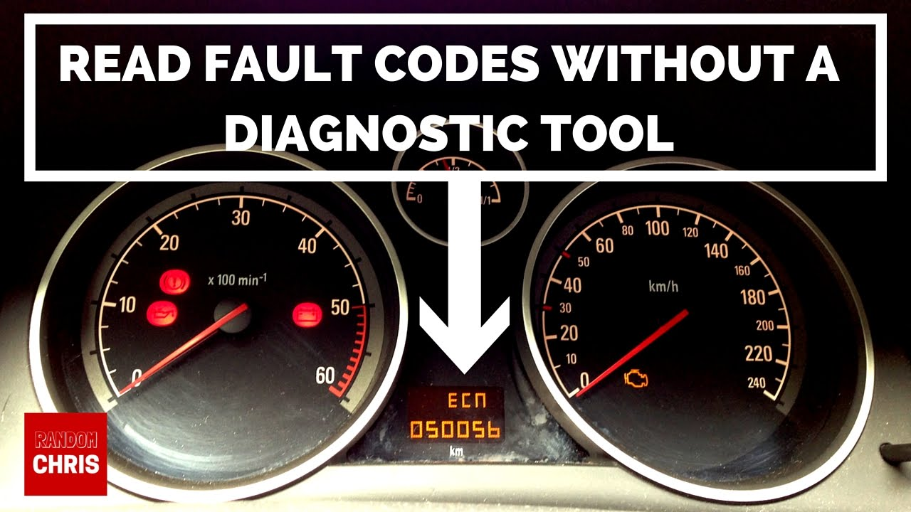 How to Read Fault Codes WITHOUT a Diagnostic Tool  Astra, Zafira, Corsa, Vectra etc (Pedal
