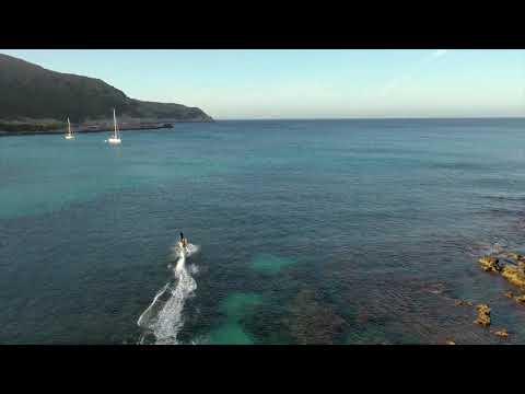 Jetsurf Lampuga rental   Electric Surfboard on Mallorca