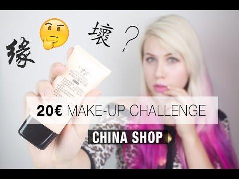 20€ China Make-up Challenge