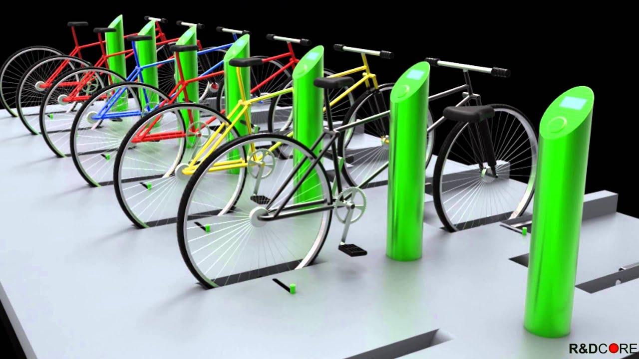 R D Core Atlas Secure Bike Lock Stand Youtube