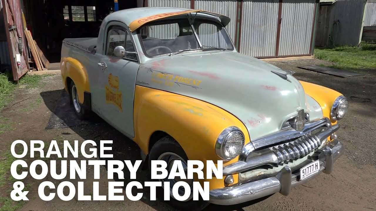 Orange Country Barn & Collection: Classic Restos - Series 45
