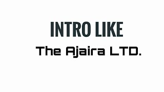 Intro like The Ajaira LTD.After effects template.After effects tutorial.Rahat's Creations 2018