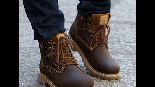 видео Мужская обувь: зимняя, осенняя