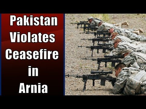 Breaking News | Pakistan Violates Ceasefire in Arnia | News18 India