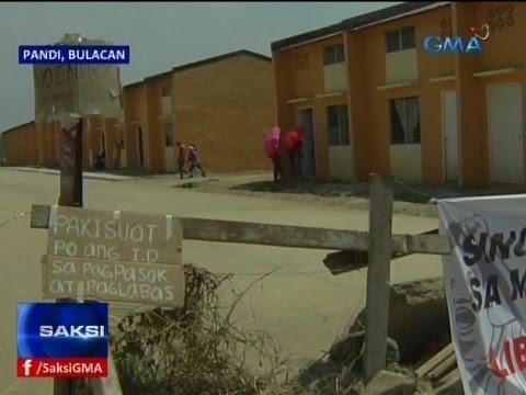 Saksi: Mag-anak na natutulog daw noon sa kalsada, kabilang sa mga umokupa sa pabahay