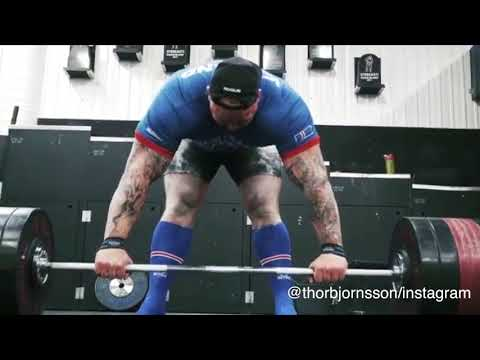 Hafthor 'The Mountain' Bjornsson from 'Game of Thrones' deadlifts over 1,000 pounds | ESPN