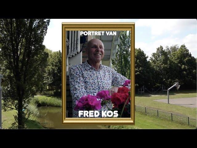 Portret van Fred Kos
