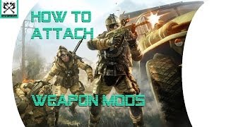 Video Warface - How to Add Weapon Attachments and Mods download MP3, 3GP, MP4, WEBM, AVI, FLV Juli 2018
