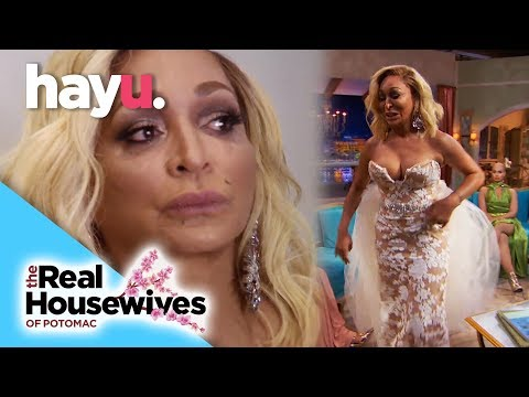 Karen Breaks Down Over Father's Passing | Season 3 Reunion | Real Housewives of Potomac