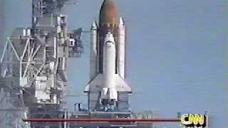 STS-55 pad abort (3-22-93)