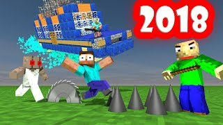 Monster School : 2018 ALL SEASONS TOP 10 - Minecraft Animation