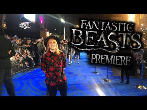 FANTASTIC BEASTS AND WHERE TO FIND THEM PREMIERE LONDON