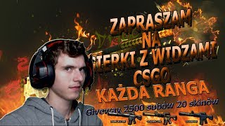 Counter Strike  Global Offensive z widzami