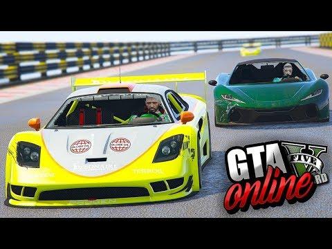 GTA V Online :  A BRIGA FOI PELO SEGUNDO LUGAR, POIS O PRIMEIRO O HACKER DO GR JÁ TINHA GARANTIDO!!