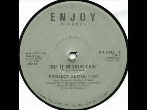 Kick It In Your Crib (1988) Senistar's 1st Record on Enjoy Records