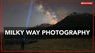 MILKY WAY PHOTOGRAPHY 📷 How to - Benjamin Jaworskyj