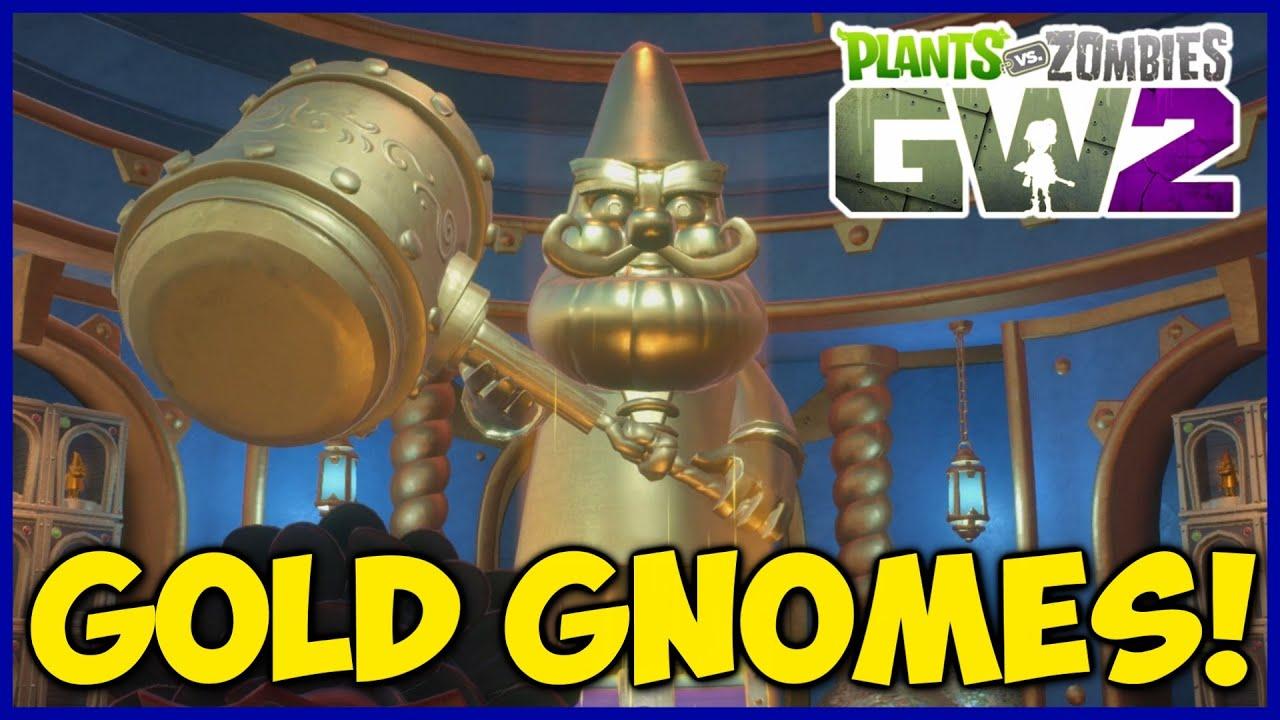 Gnome Man's Land Achievement + 12 Gold Gnome Locations! | Plants vs  Zombies: Garden Warfare 2