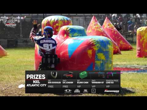 Fantasy Paintball Prizes - NXL Atlantic City - MYFANWAGON.COM
