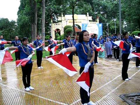 Nghi thức hội cấp Tp (Phần 3: Múa Semaphore)